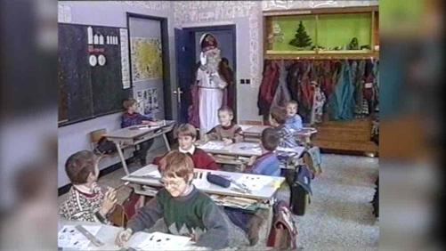 Quand Saint Nicolas rendait visite aux enfants athois en 1993