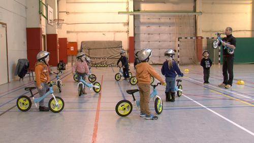 Le vélo, ça s'apprend dès le plus jeune âge