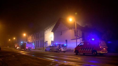 Deux victimes dans un incendie à la chaussée de Tournai