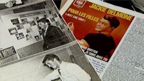 La tournée de Jacky Delmone avec Johnny Hallyday