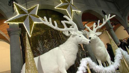 La magie de Noël investit la Halle aux draps
