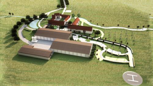 La ferme Delgueule veut passer de 9 chambres à 37 chambres avec un héliport