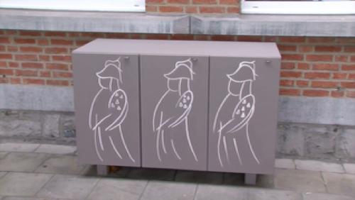 Des casiers pour les sans-abris