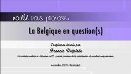 La Belgique en question(s) - 05/12/13