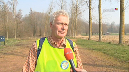 André Dechamps, citoyen bénévole, impliqué dans la propreté de sa commune