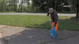 PNPE : Les Wallo'nets traquent les déchets sauvages à Péronnes - 06/05/14