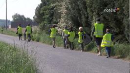 """Opération """"Ma commune propre"""" à Celles - 08/05/14"""
