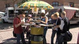 La compagnie BIB'Z sensibilise à la gestion des déchets sur le marché - 17/06/14