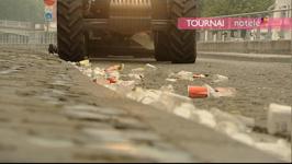 Nettoyage de la ville par les ouvriers communaux - 28/06/14
