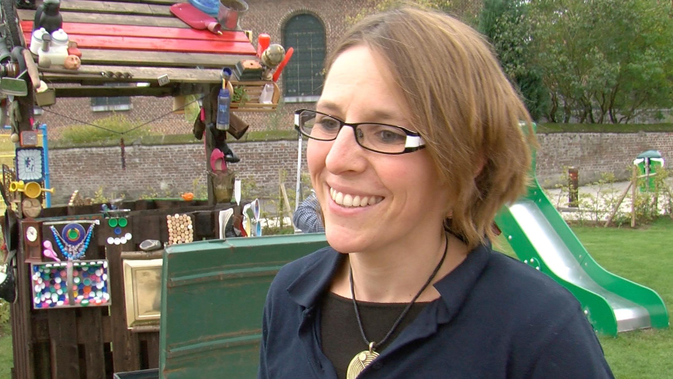 katheline toumpsin  nouvelle directrice du centre culturel de leuze