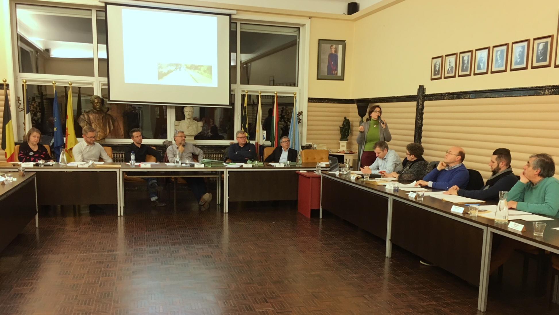 La commune de Leuze met en route son plan communal de mobilité