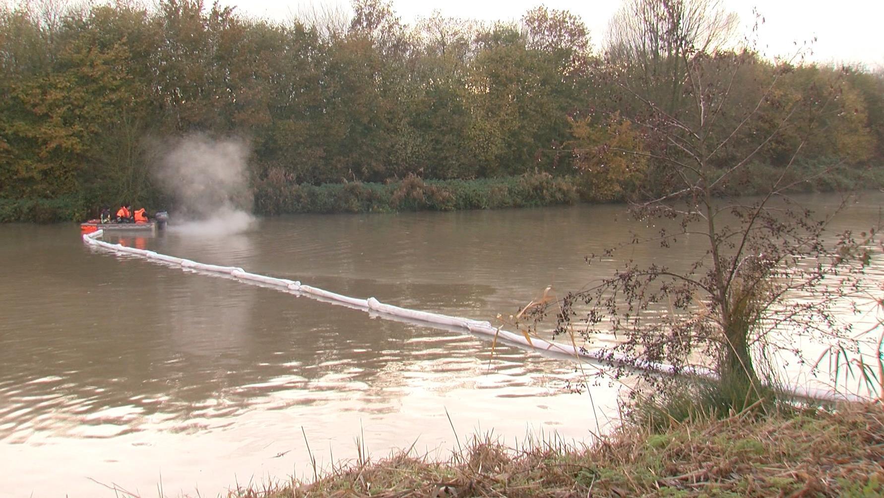 Pollution signalée sur la Lys: l'entreprise Clarebout pointée du doigt
