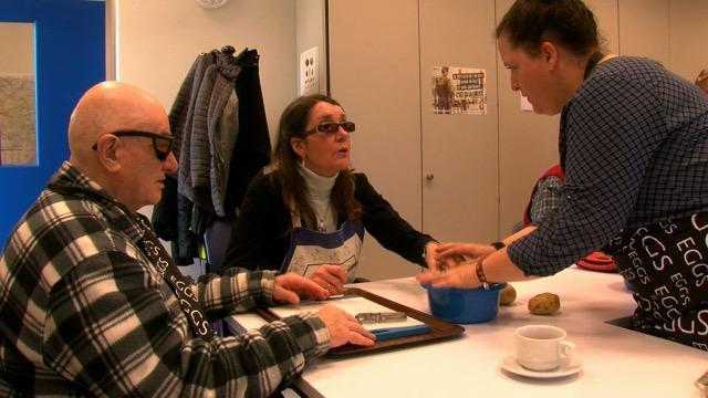 Les ateliers culinaires de la ligue braille