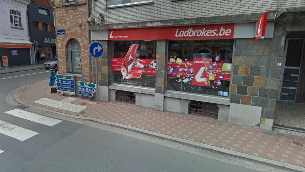 L'agence Ladbrokes de la rue de Wervicq braquée