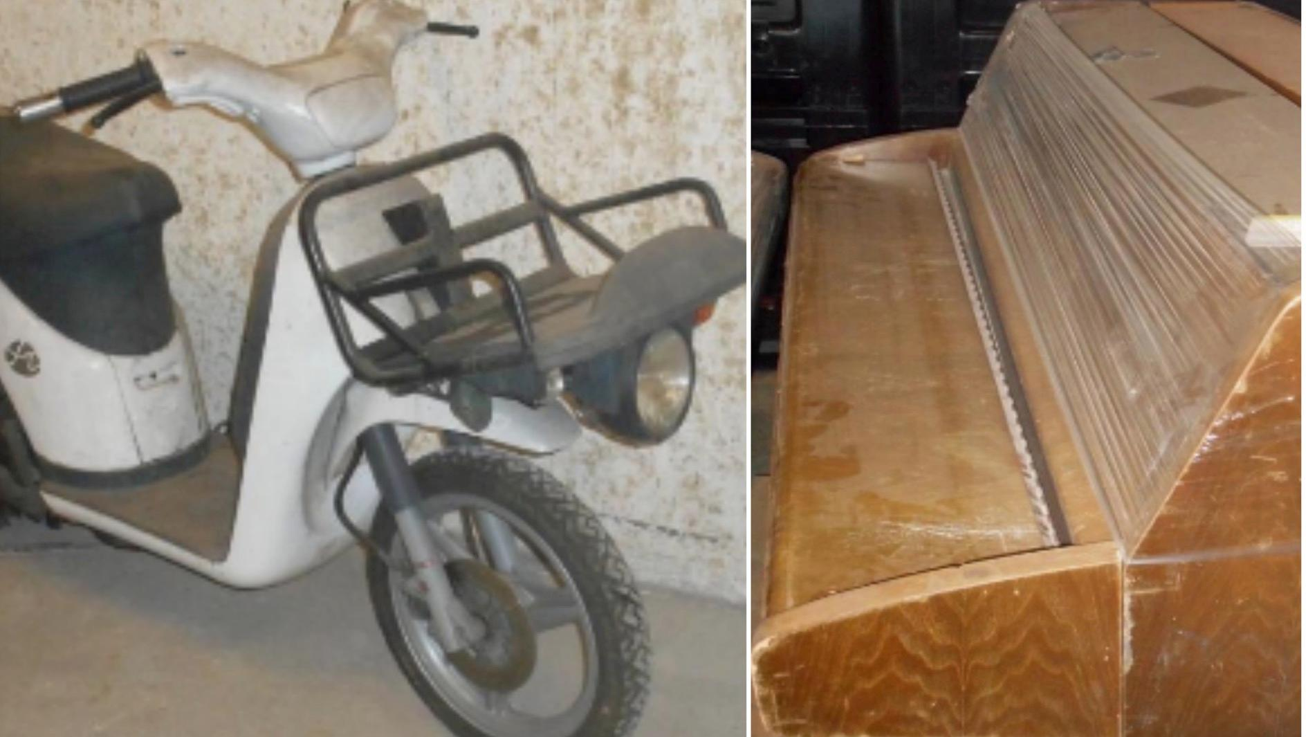 Cyclomoteurs, pianos, camionnettes,… La ville met en vente des biens déclassés