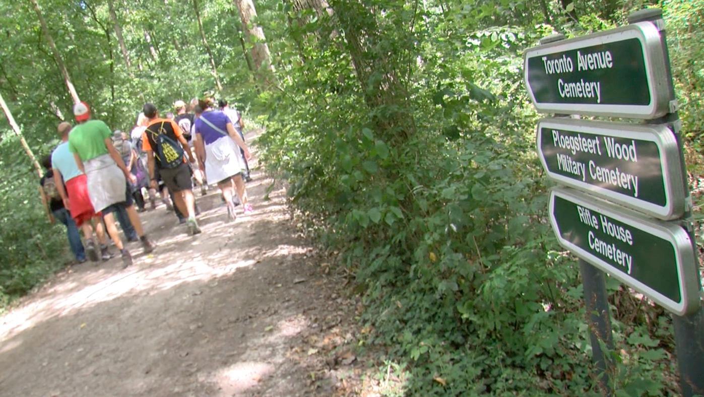 Une balade pour découvrir les lieux méconnus dans les bois de Ploegsteert