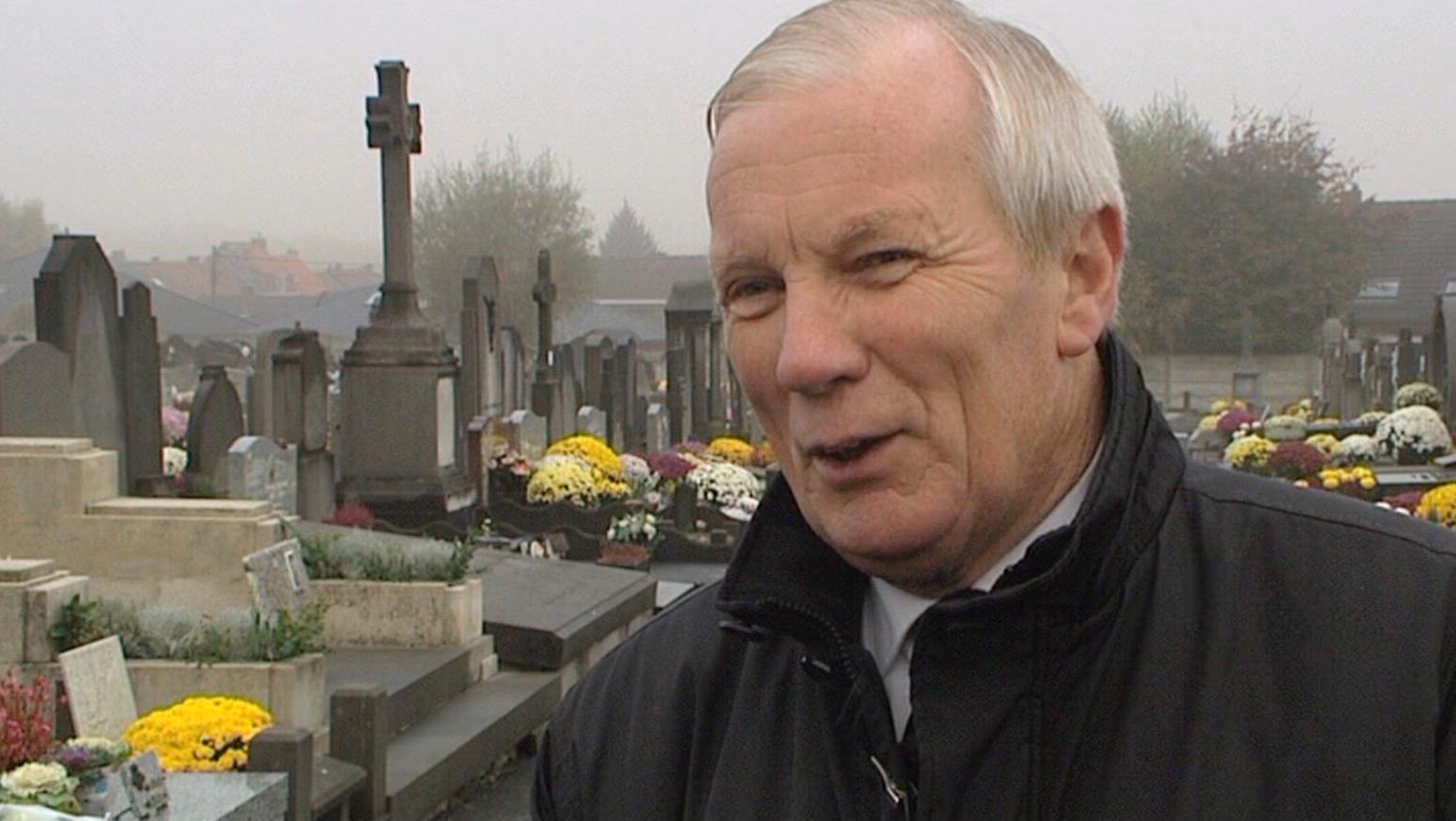 Alfred Gadenne ouvrait et fermait le cimetière de Luingne tous les jours