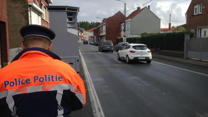 Flashé à 124 km/h à la chaussée de Lille
