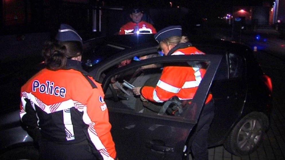 Week-end sans alcool au volant: 1 conducteur sur 4 en état d'ivresse à Mouscron