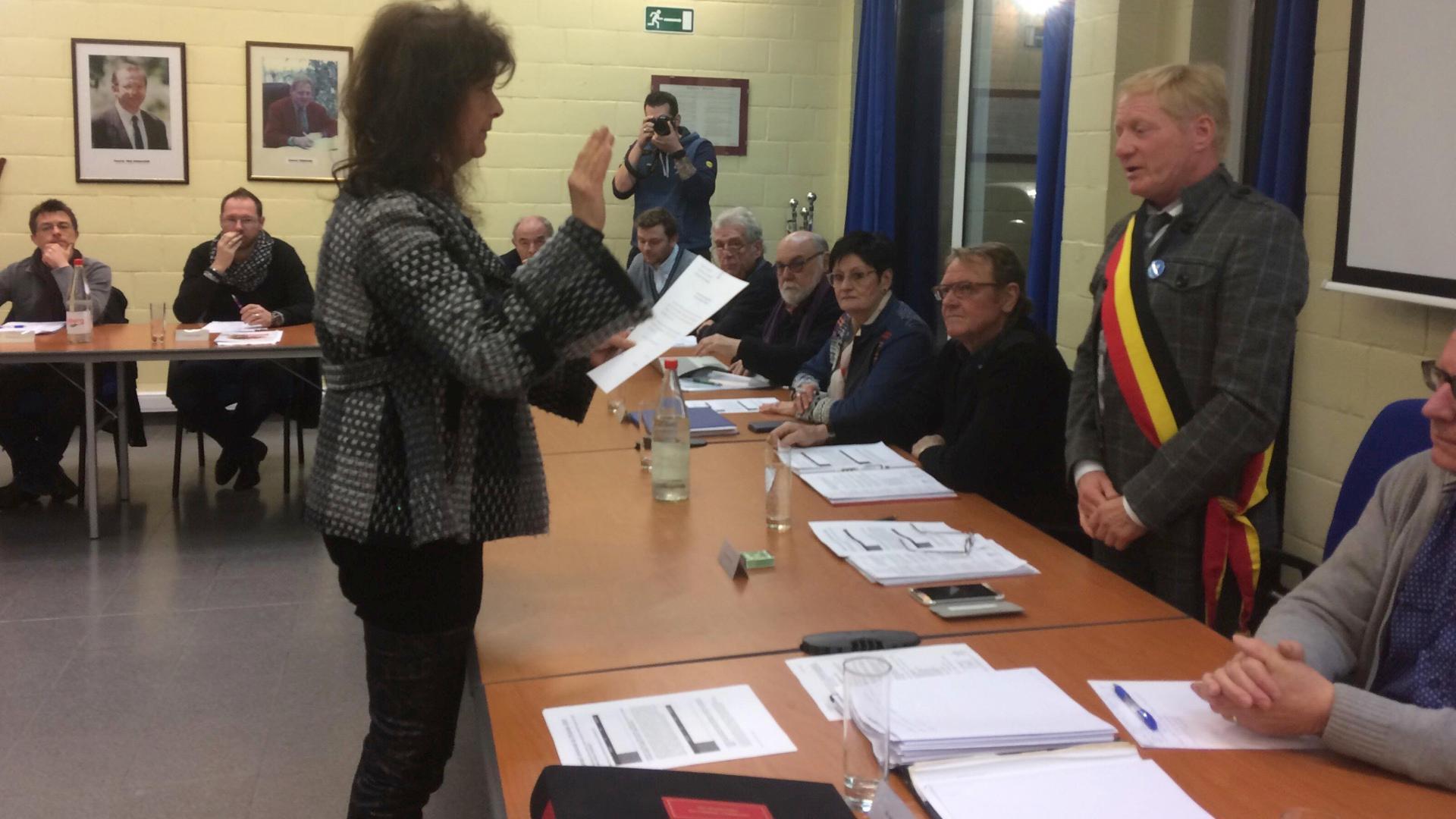 Clotilde Colasse remplace Anne-Noëlle Vervaet au conseil communal