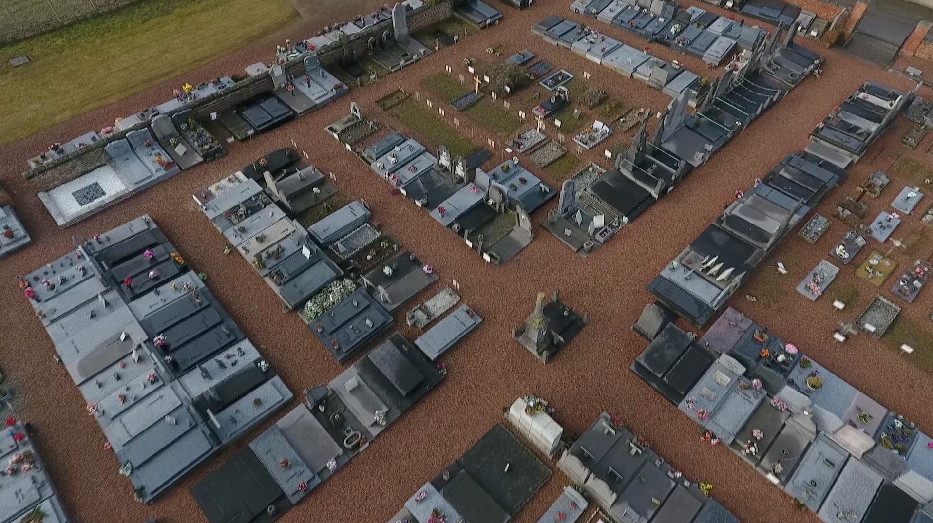 Des vols de métaux dans les cimetières de Beloeil
