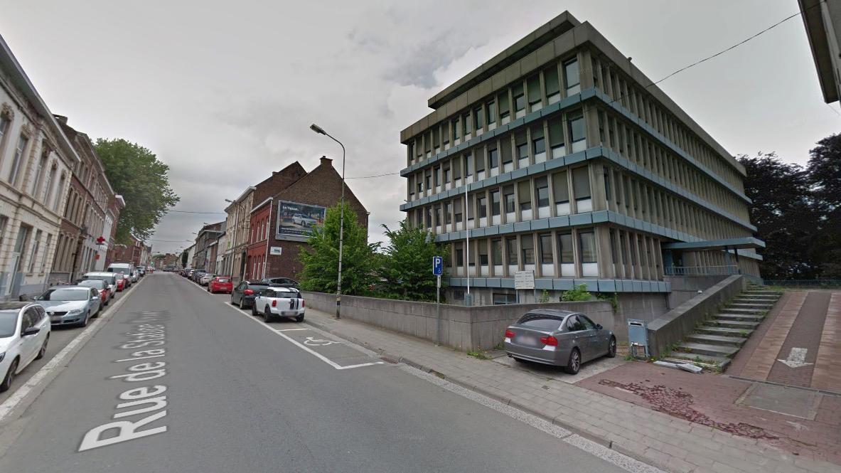 Un lidar installé rue de la station à Mouscron