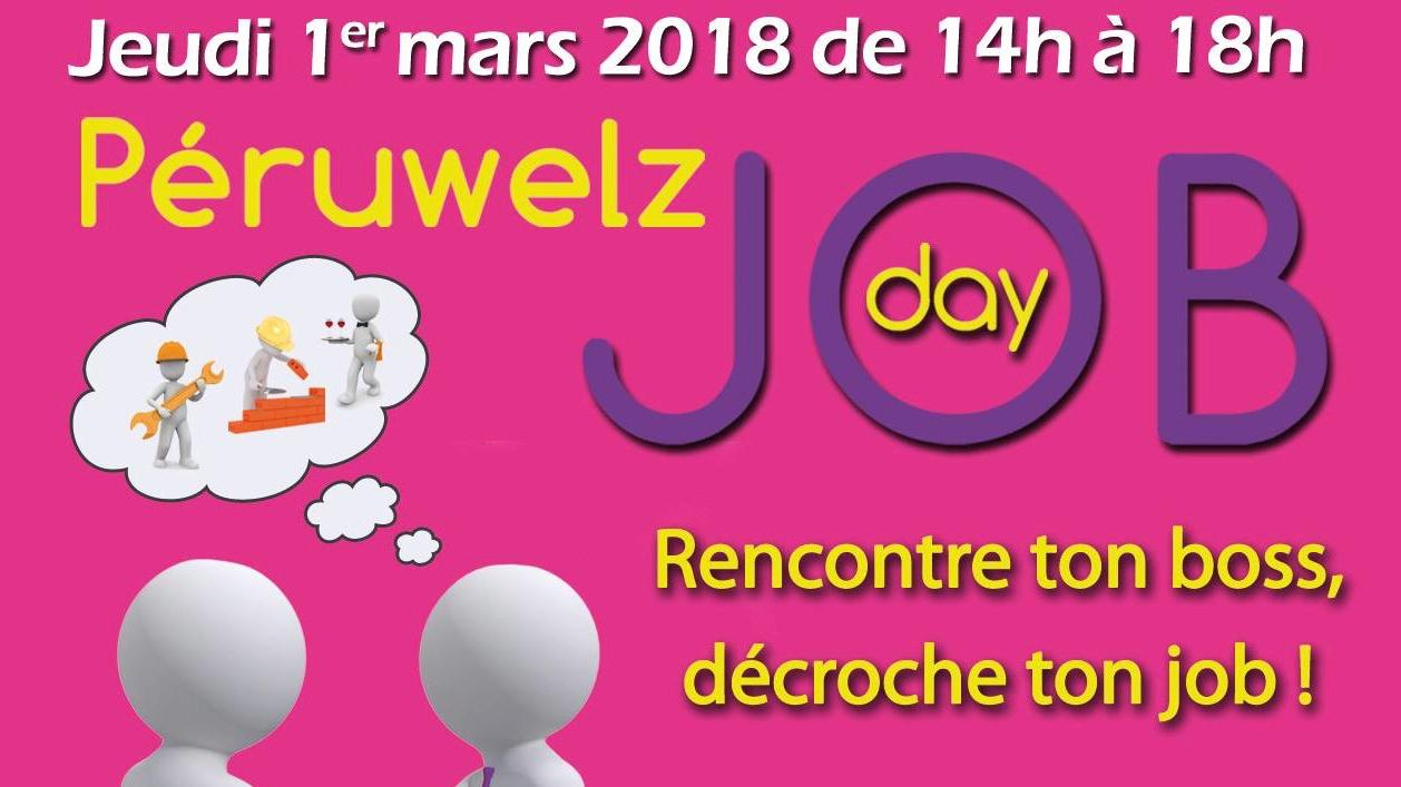 Voici le programme du salon JOBday de Péruwelz