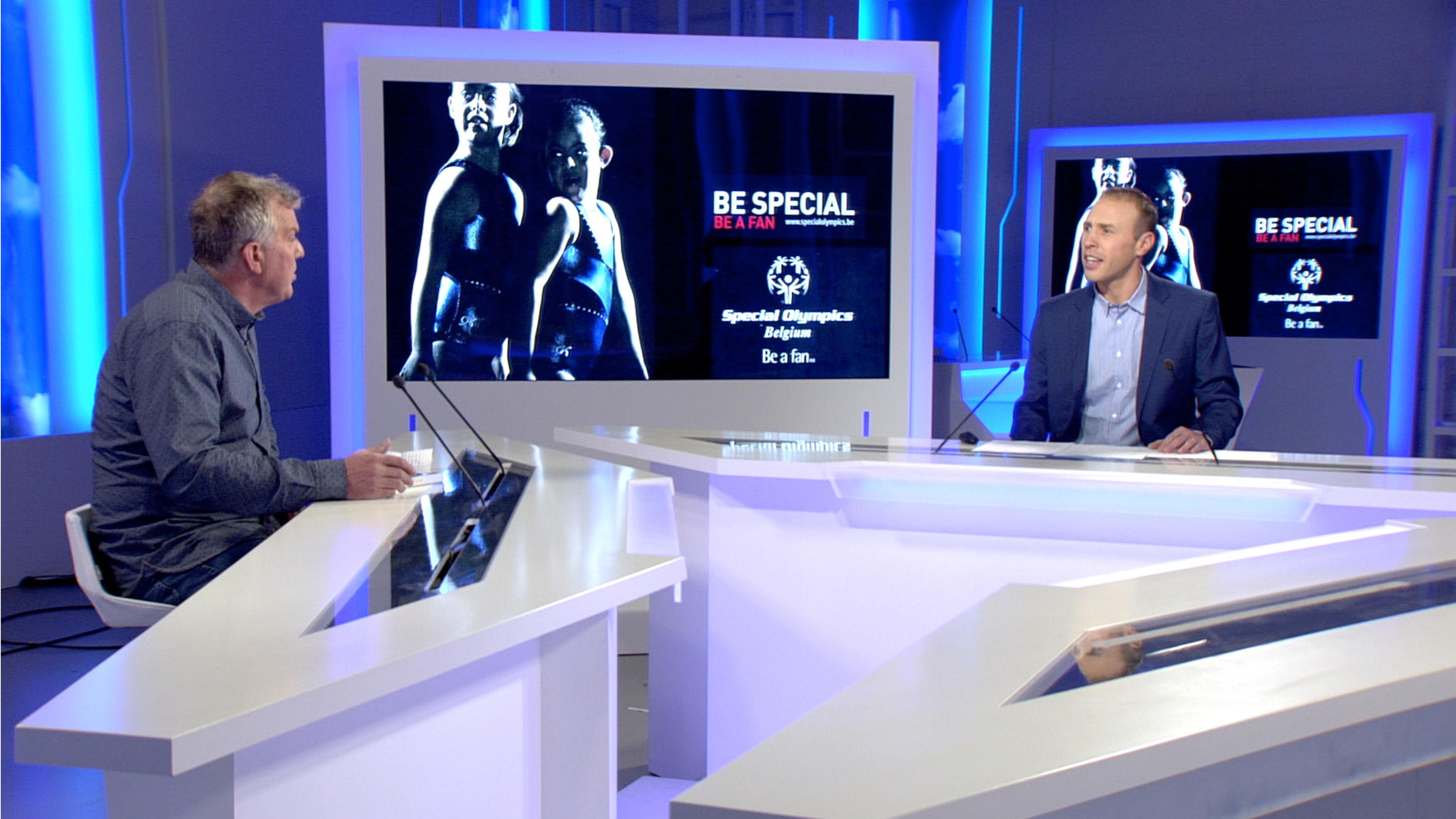 Présentation des Special Olympics Belgium