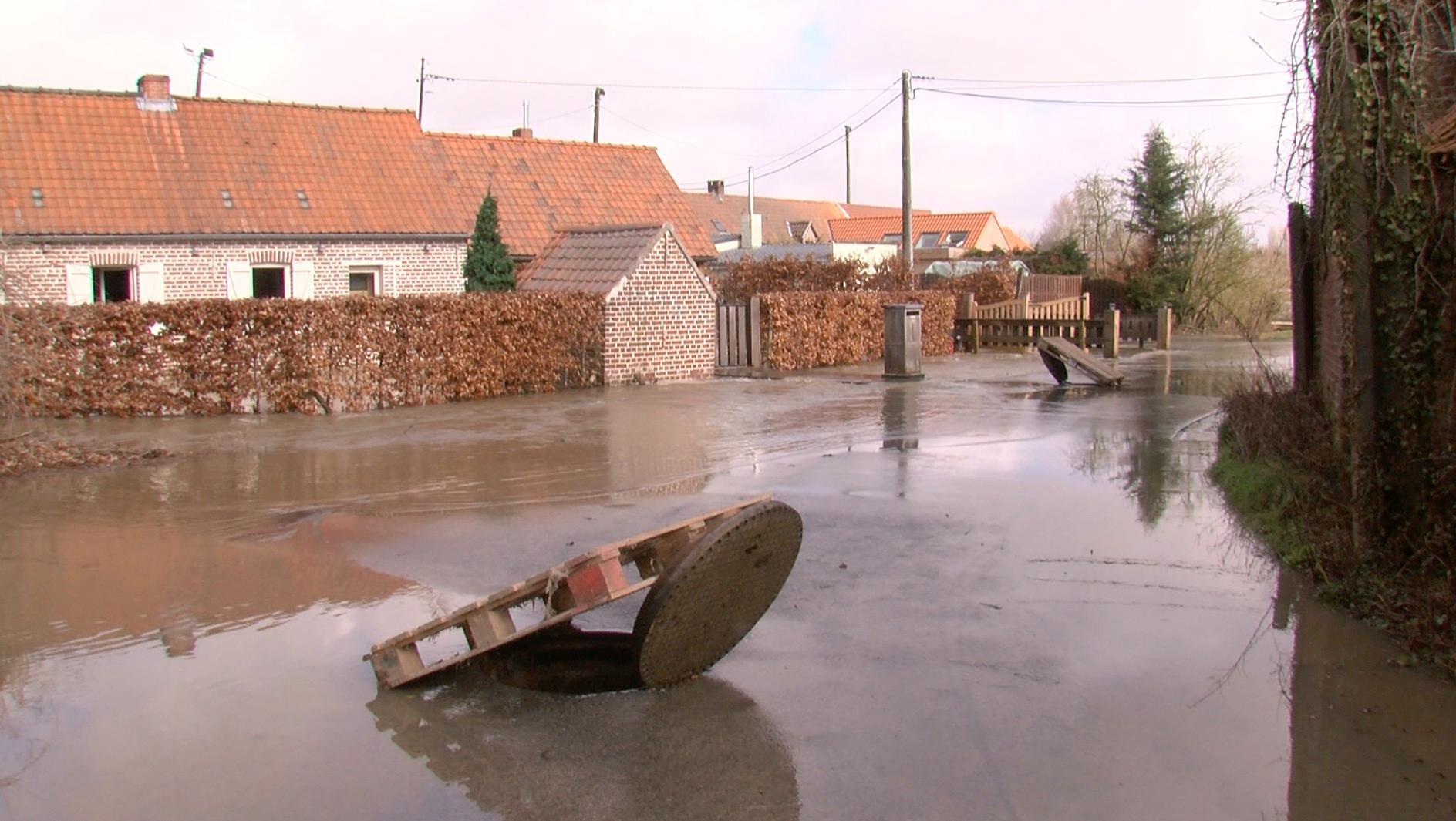 Inondations : La Province de Hainaut prévoit plusieurs gros chantiers en 2018