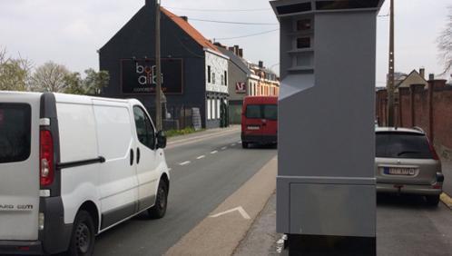 Le Lidar installé à la rue de Menin