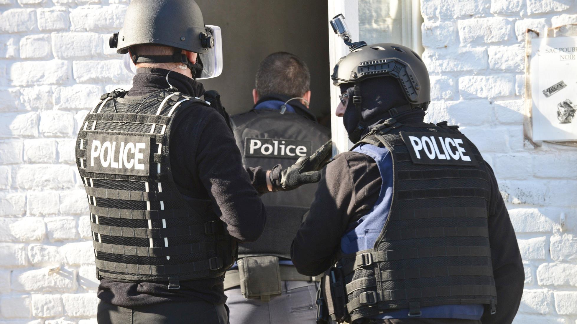 Importantes perquisitions menées par la police judiciaire à Mouscron