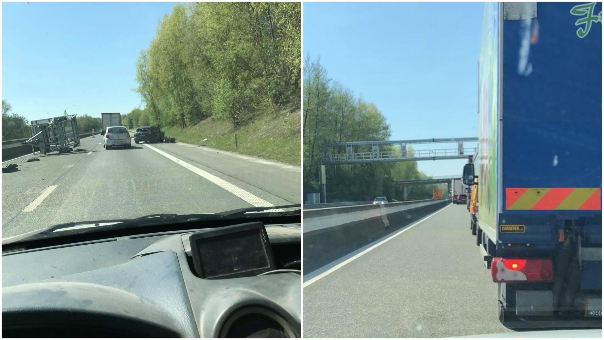 Des bouchons à la suite d'un accident entre Ath et Frasnes sur l'E429