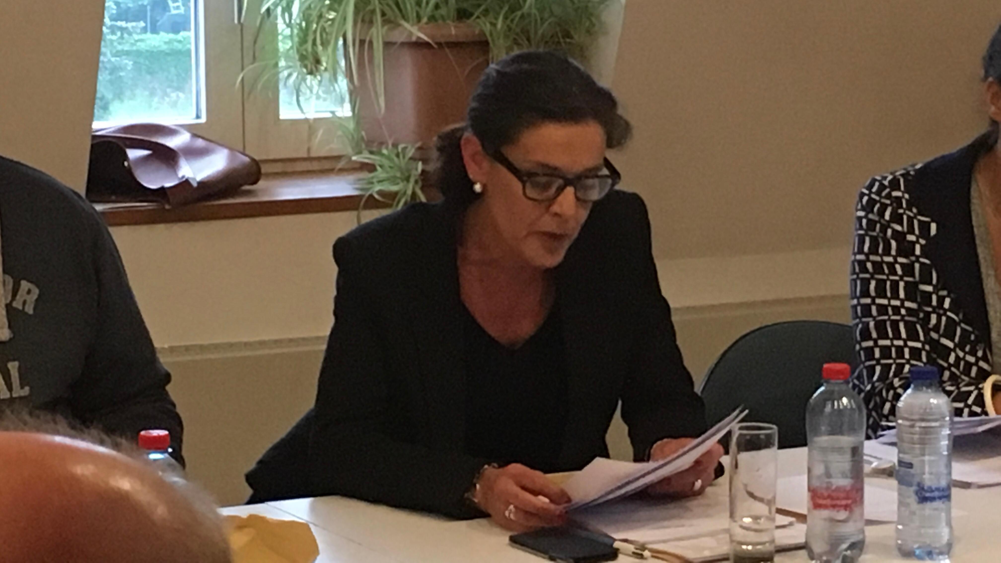 Cécile Cuvelier quitte le PS