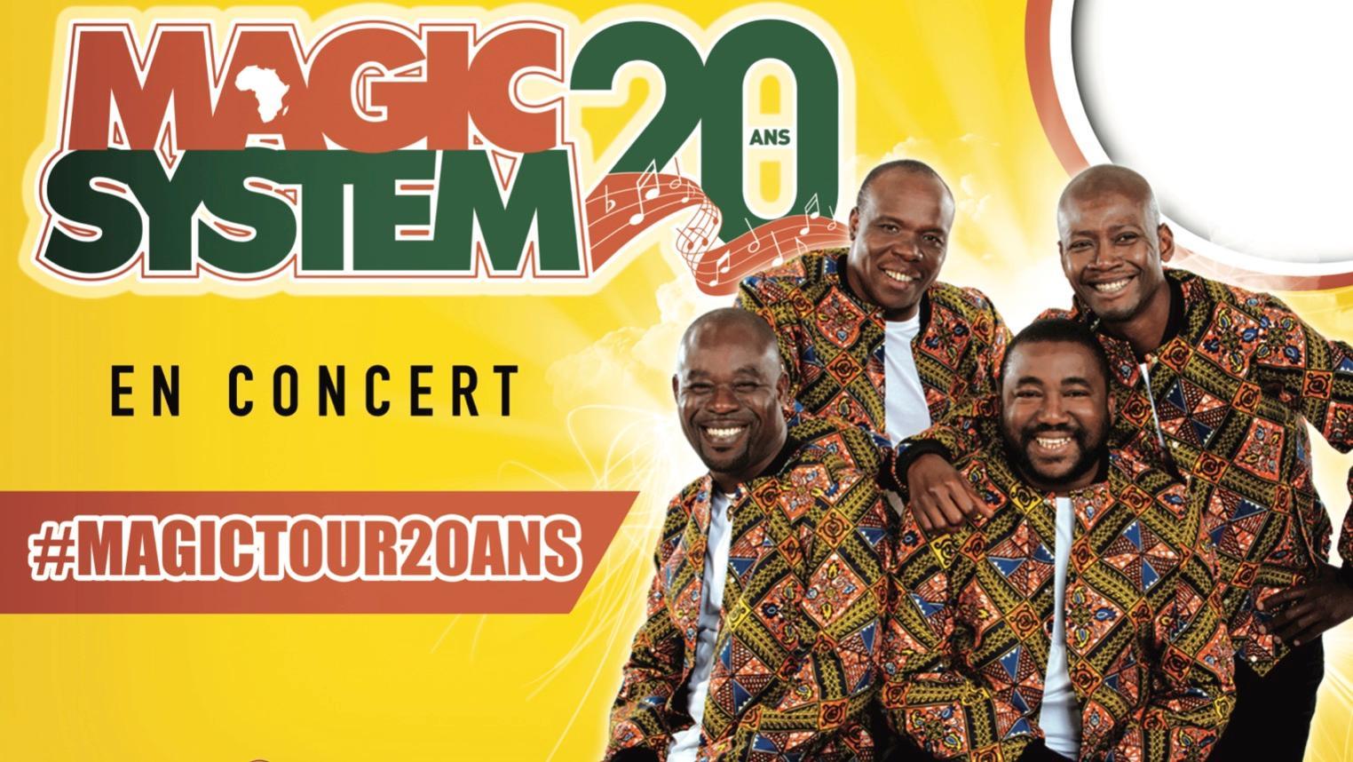 Magic System en concert lors des 24h de Mouscron