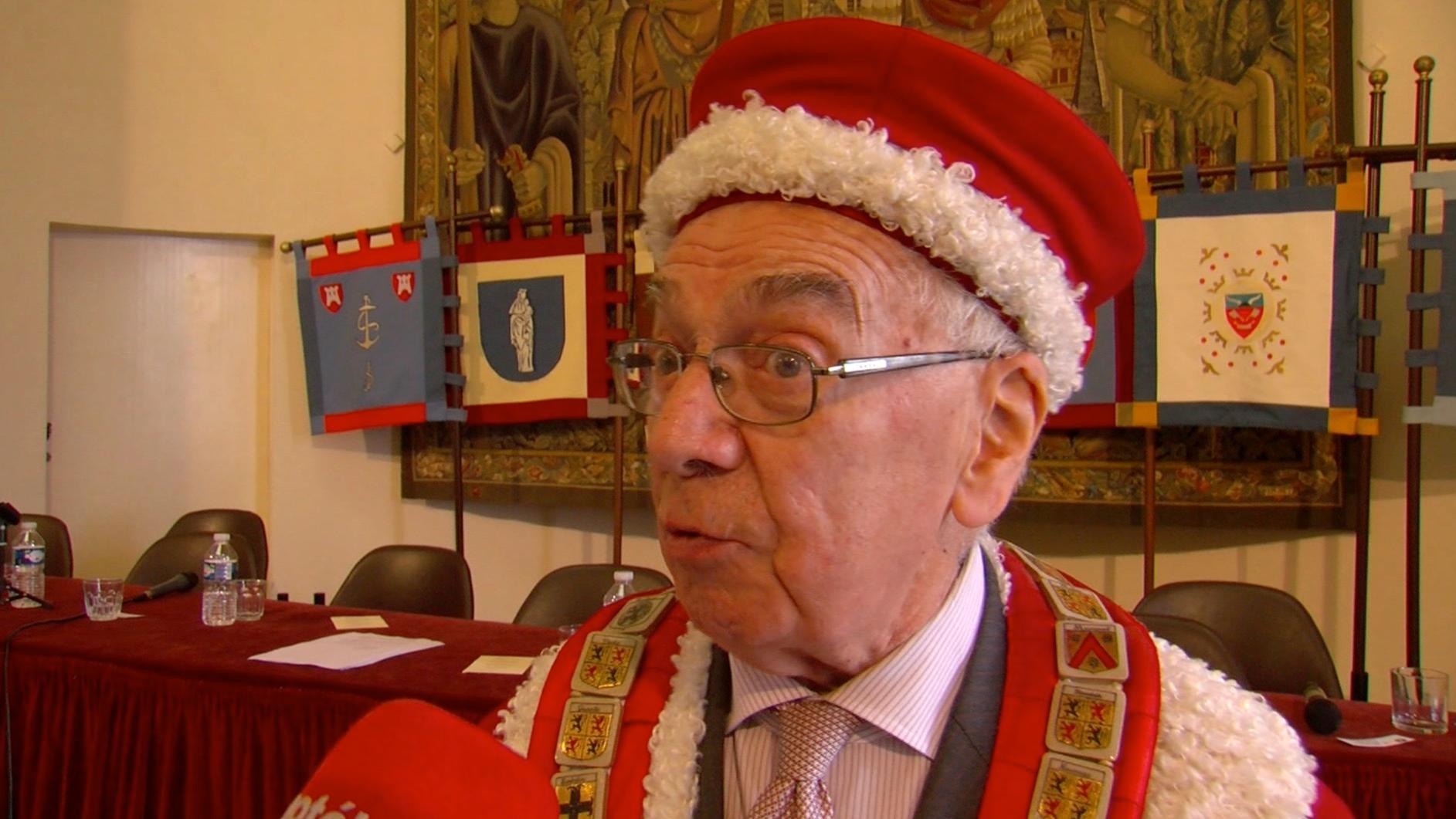 Georges Toubeau, n'est plus Grand Maître des Chevaliers de la Tour