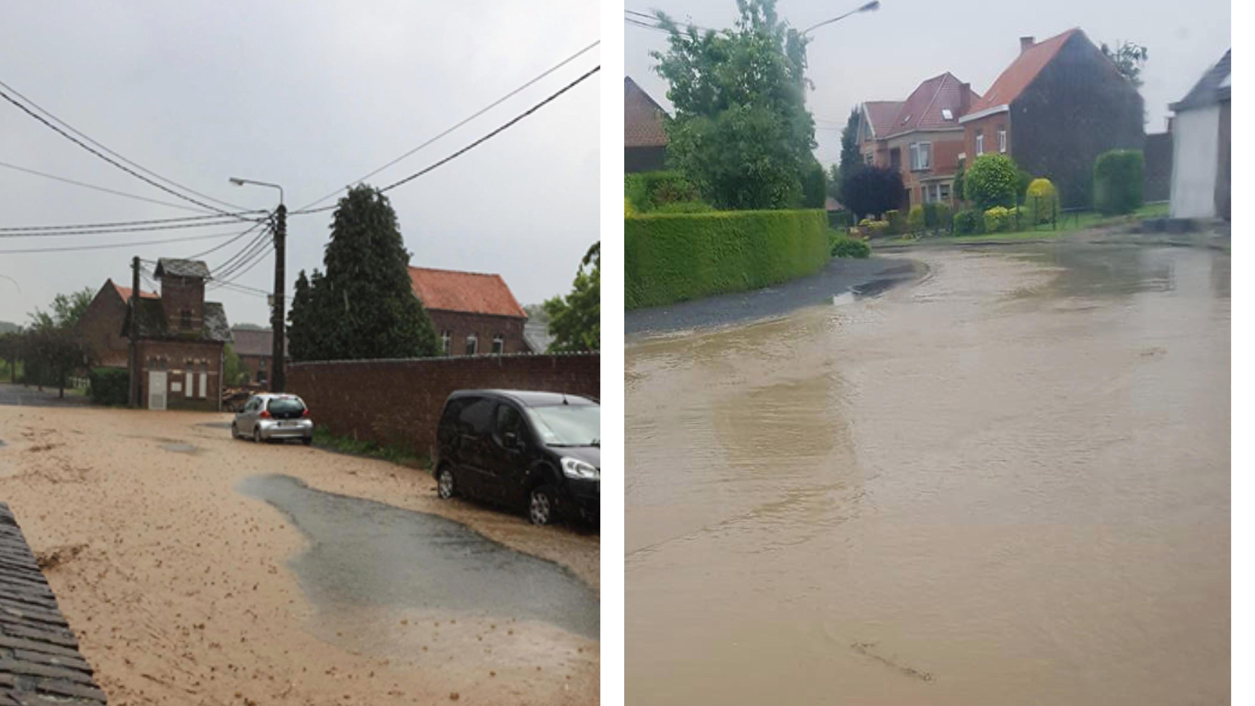Orage : Des coulées de boue en Wallonie picarde