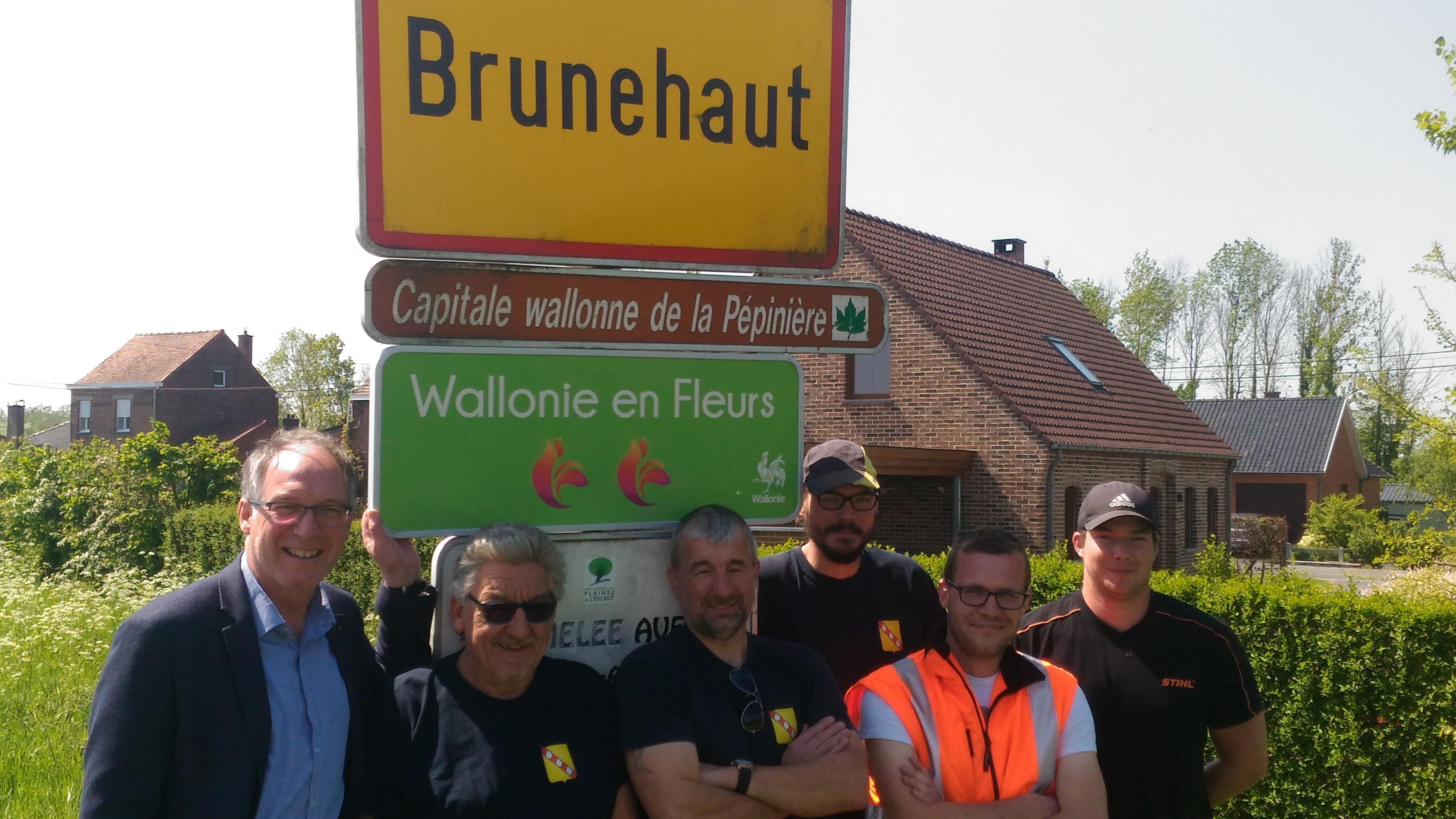 Wallonie en Fleurs: la commune de Brunehaut récompensée