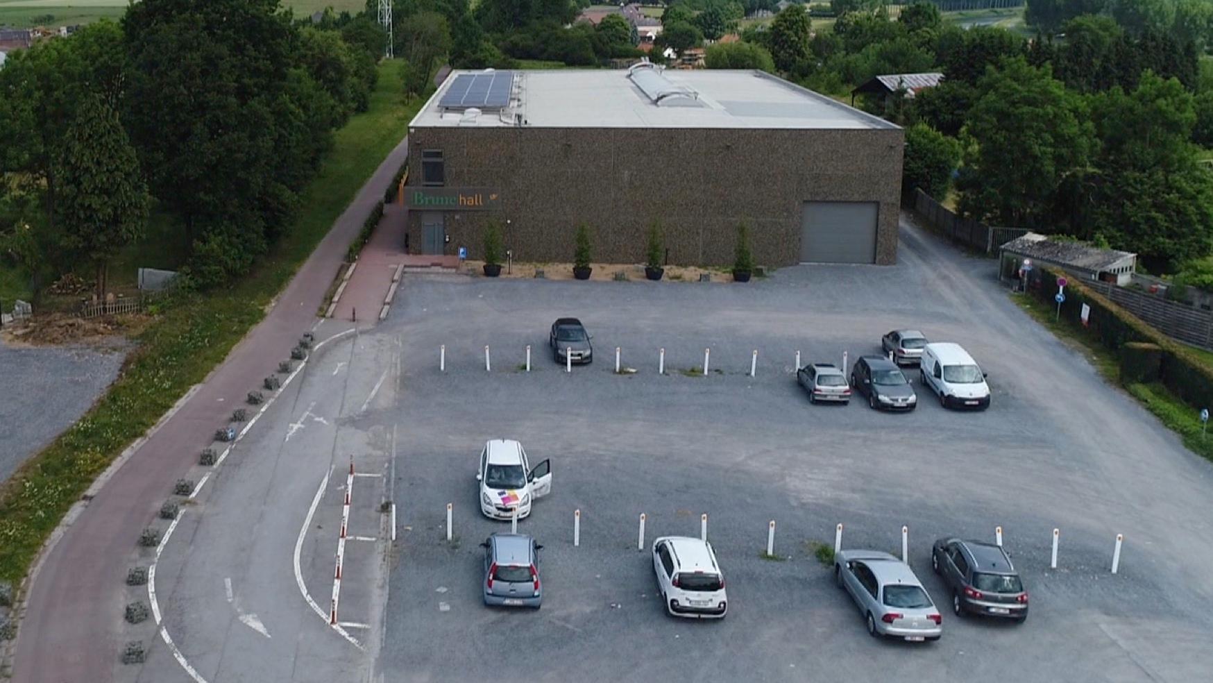 Le parking du Brunehall bientôt en travaux