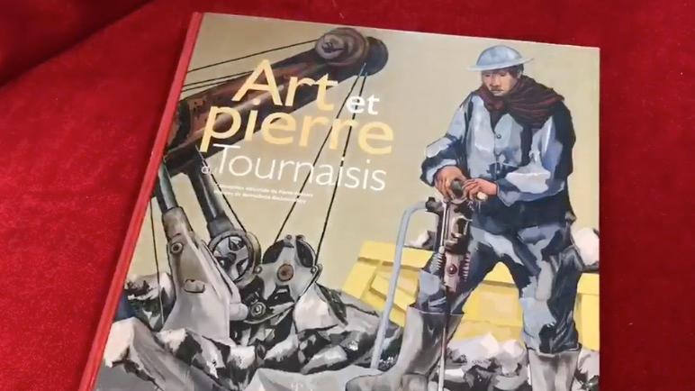 Présentation du dernier livre de Wapica sur l'Art et la Pierre