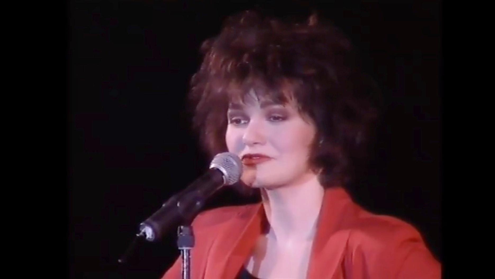 La chanteuse Maurane est décédée: retour sur son concert à Tournai en 1993