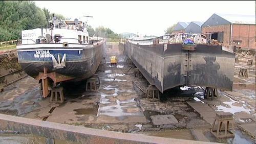 Les chantiers navals Plaquet en faillite