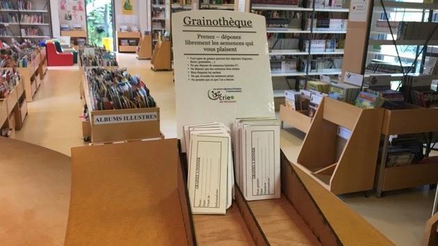 Une grainothèque installée à la bibliothèque de Frasnes