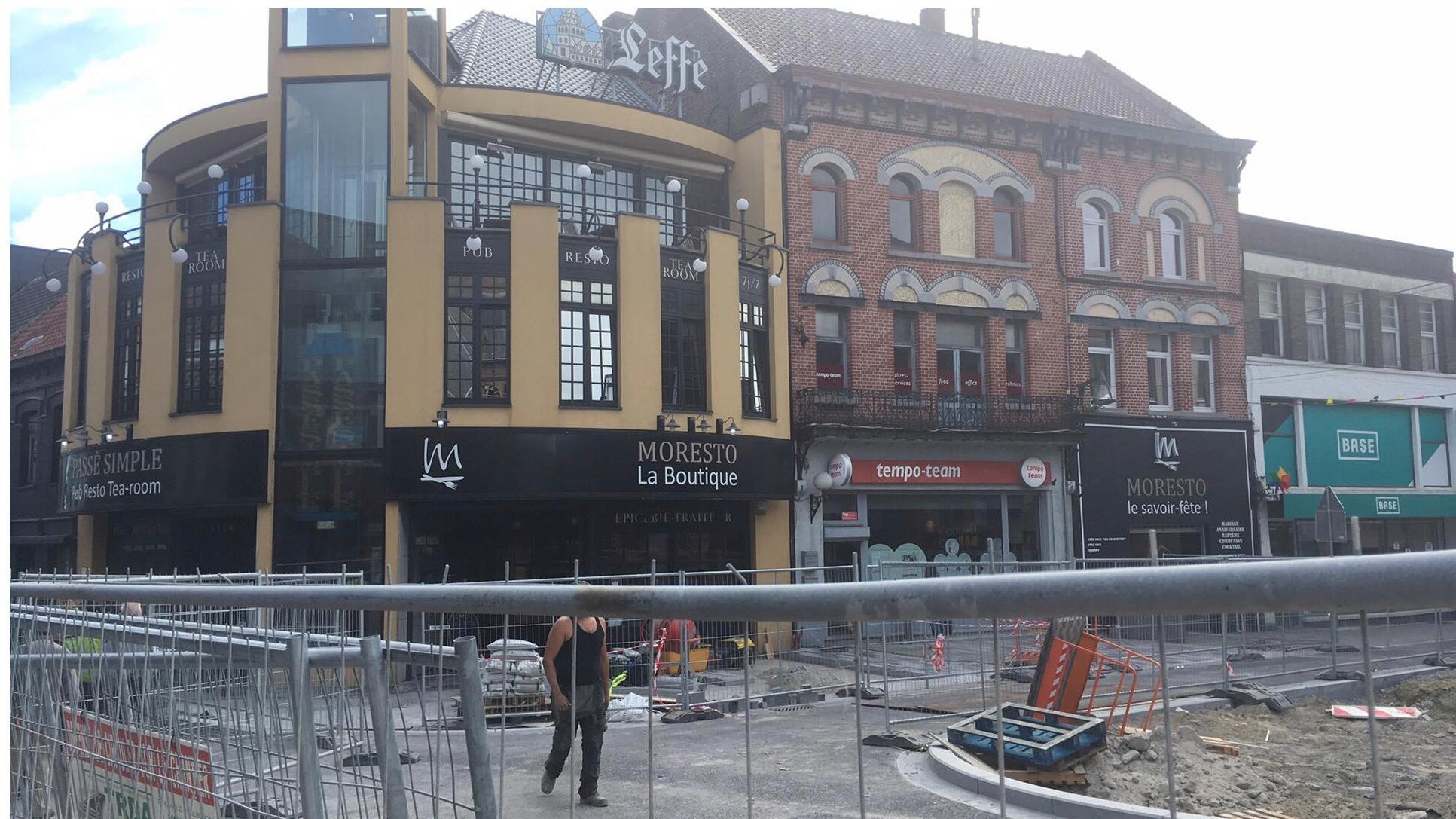 Les rues de Tournai et de Courtrai rouvertes à la circulation prochainement