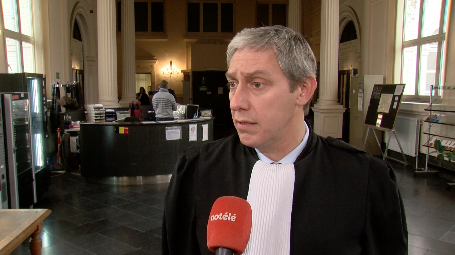 Arnaud Beuscart nouveau bâtonnier de Tournai