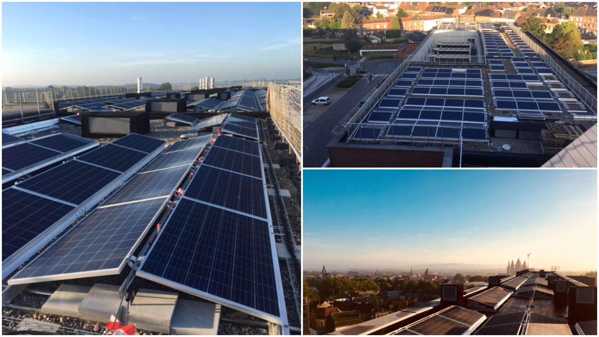 700 panneaux photovoltaïques au CHwapi