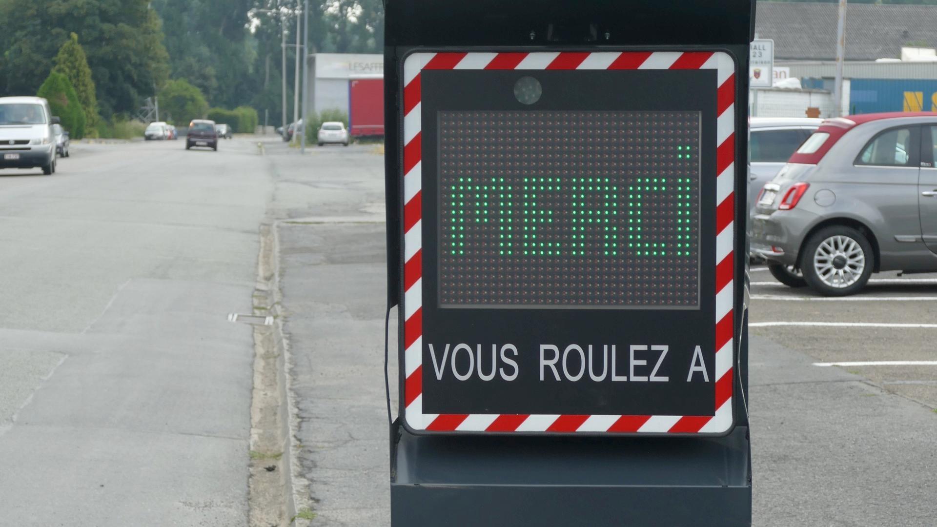 3 nouveaux radars mobiles préventifs vont être installés dans Tournai