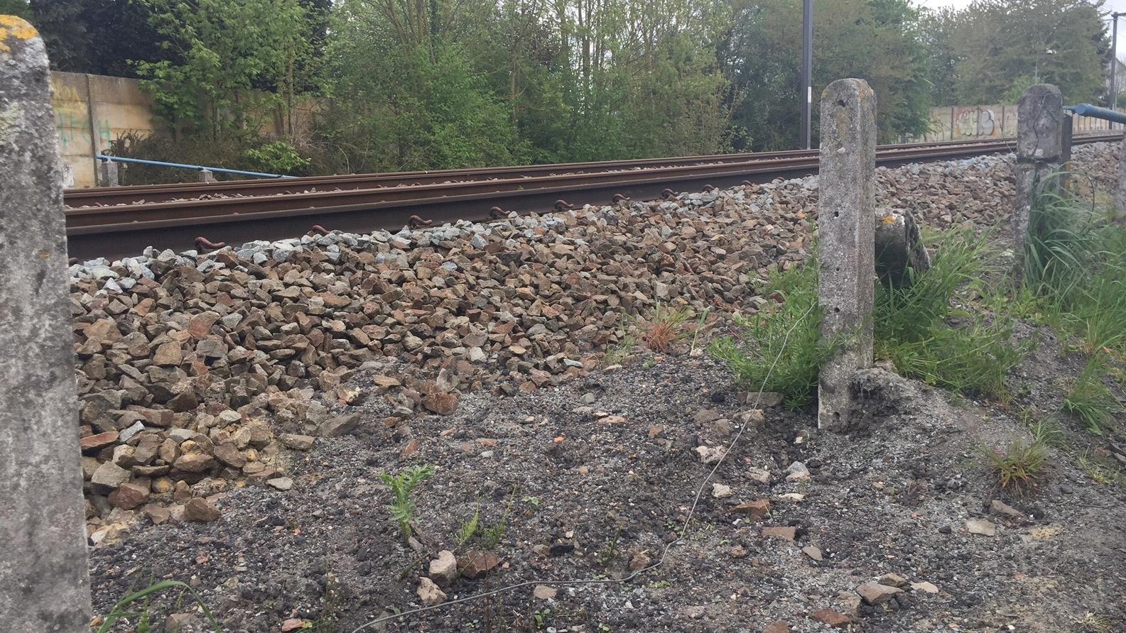 Les voies de chemin de fer à Warchin sécurisées avant la fin de l'année