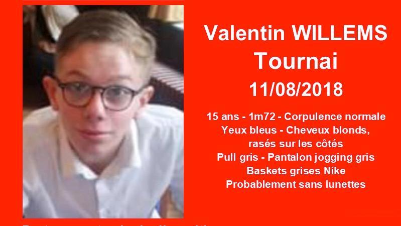 Avez-vous vu Valentin Willems ?
