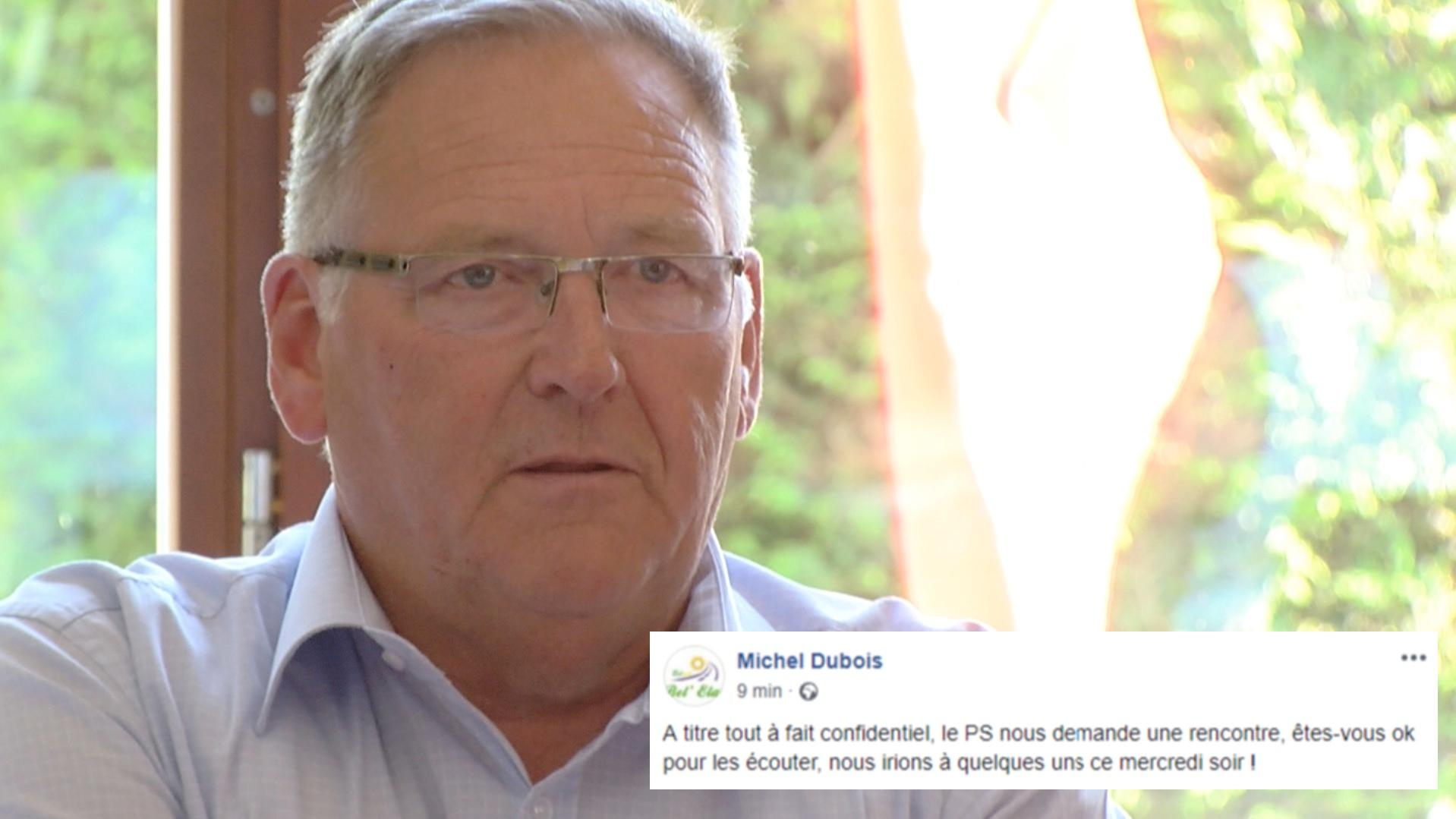 Un post de Michel Dubois sur un rapprochement avec le PS sème le trouble