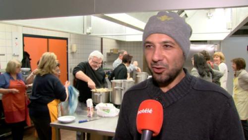 Un demandeur d'asile nous offre sa cuisine